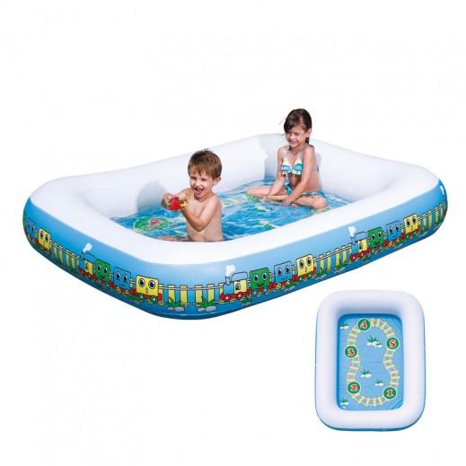 بست واي – حمام السباحة للأطفال مع ألعاب 201 × 150 × 30 سم
