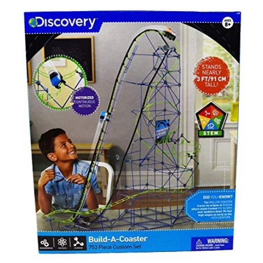 Discovery Building Set Roller Coaster 753 Pieces