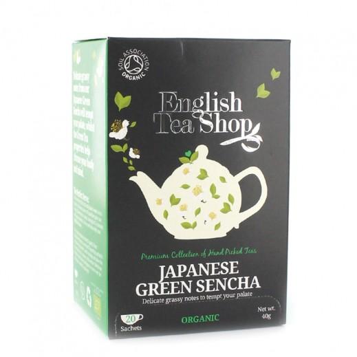إنجلش تي شوب – شاي ياباني أخضر 20 كيس (40 جم)
