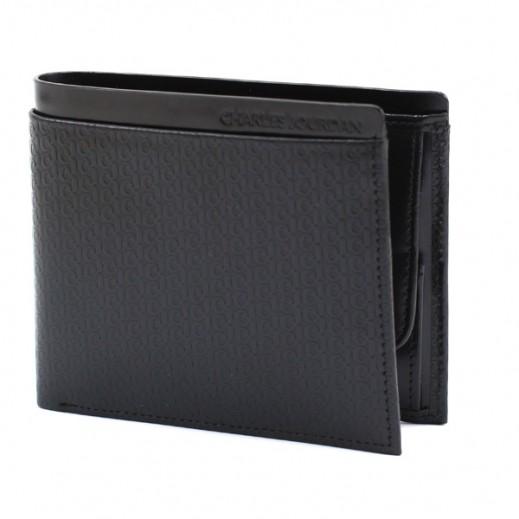 تشارلز جوردان – محفظة جلدية رجالية JLM8148 – أسود