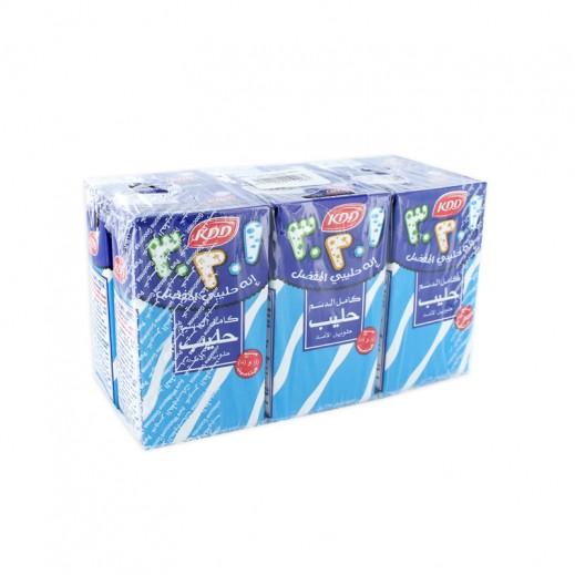 كى دى دى – حليب طويل الأمد كامل الدسم 125 مل ( 6 حبة )