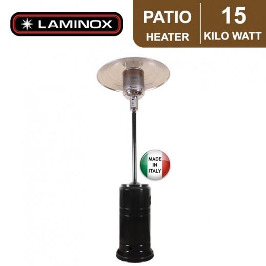 لامينوكس – دفاية باتيو الإيطالية 15 كيلو واط - أسود - يتم التوصيل بواسطة ALI ABDULAZIZ AL SANEA COMM. EST.