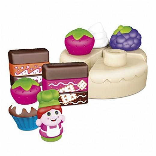 شيكو – لعبة تصميم الكيكة للأطفال 30 قطعة