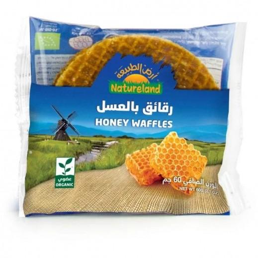 أرض الطبيعة - رقائق بالعسل عضوي 60 جم