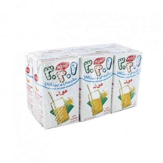 كى دى دى – حليب بنكهة الموز 125 مل ( 6 حبة )