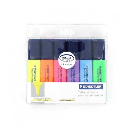 ستدلر تكست سيرفر – أقلام الإظهار – 6 ألوان متنوعة