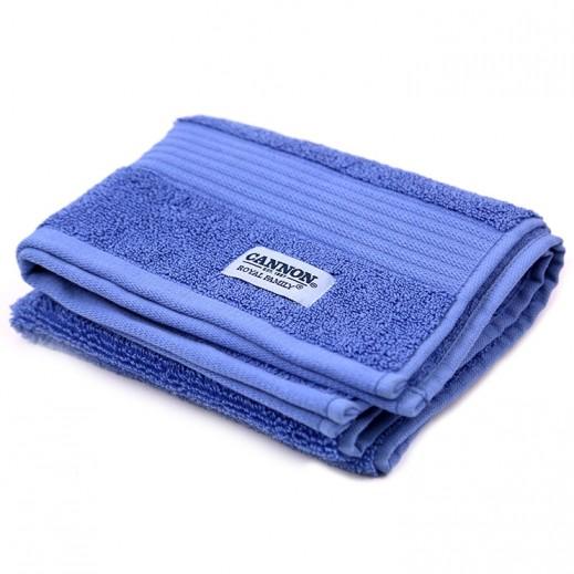 كانون رويال مناشف حمام زرقاء 1 قطعة مقاس 50×100 سم
