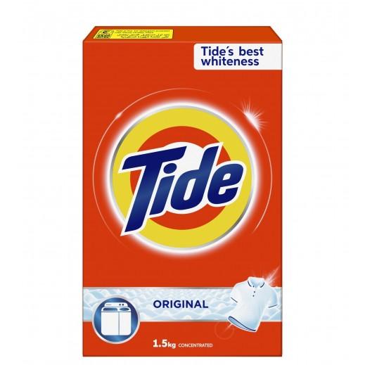 تايد - مسحوق الغسيل بالعطر الأصلي للغسالات العادية 1.5 كجم