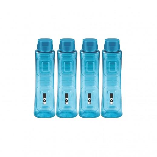 سكاي - طقم زجاجة مياه هولاند 900 مل (4 حبة) (ألوان متعددة)