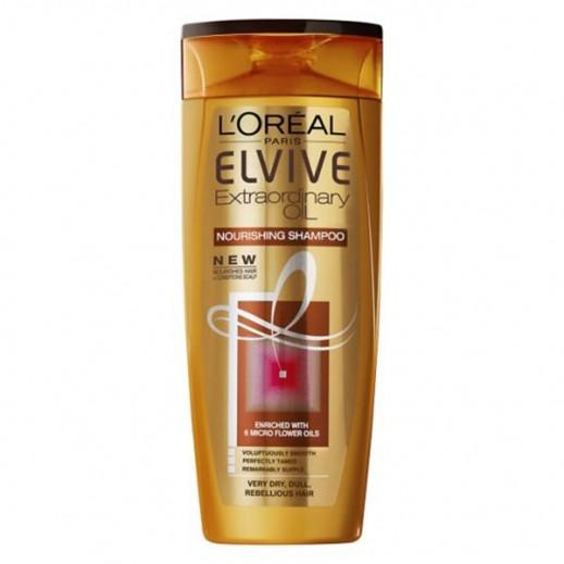 لوريال إلڤيڤ – شامبو مُغذي بالزيت للشعر شديد الجاف  400 مل