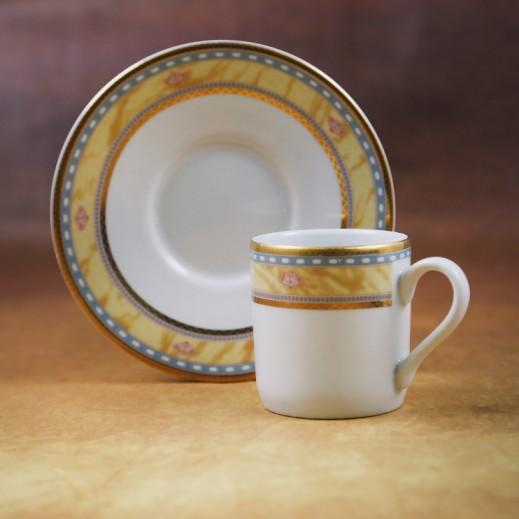 توجنانا – طقم فناجين قهوة بورسلان مع طبق 12 قطعة