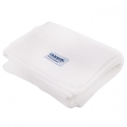 كانون رويال مناشف حمام أبيض 1 قطعة مقاس 50×100 سم