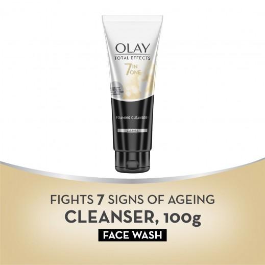 اولاي غسول الوجه توتال افيكت 7 في 1 لمقاومة علامات تقدم السن 150 مل