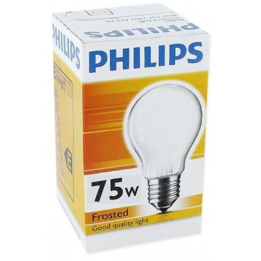 فيليبس – مصباح بلوري B27 & A55 – بقوة 75 واط