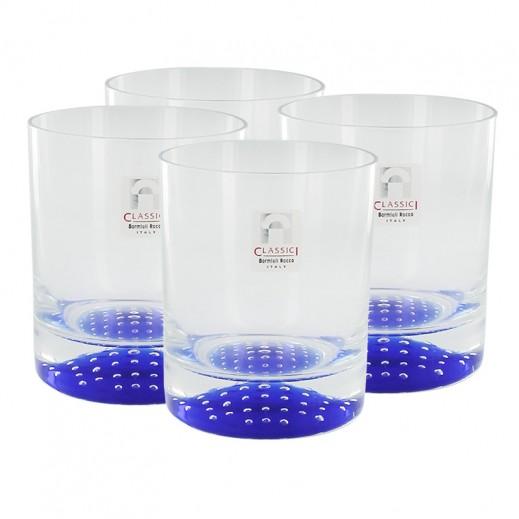 بورميولي روكو تورنادوت - طقم أكواب زجاجية 4 حبة × 23.5 سنتي لتر