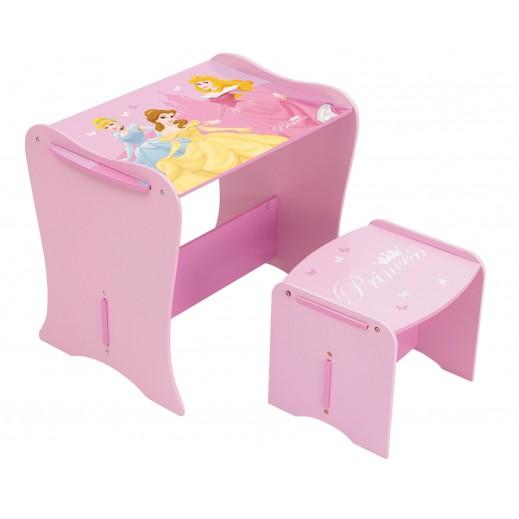 طاولة مع مقعد أميرة ديزني - يتم التوصيل بواسطة تابي جروب خلال 3 أيام عمل