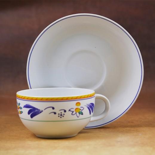 توجنانا – طقم فناجين شاي بورسلان مع طبق 12 قطعة