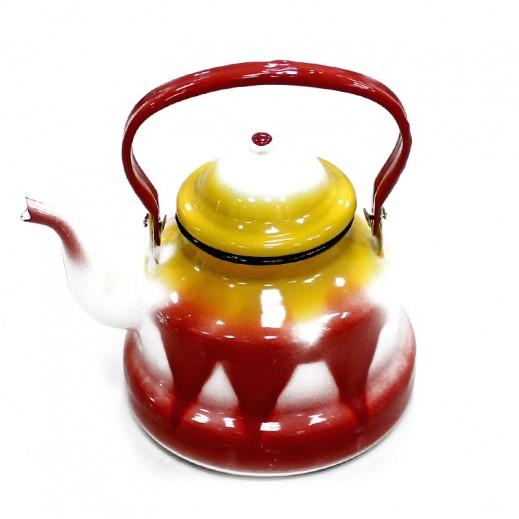 جي كي سي – إبريق شاي معدني 2 لتر (ألوان متعددة)