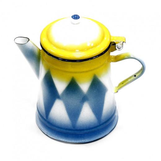 جي كي سي – غلاية حليب معدنية 1 لتر (ألوان متعددة)
