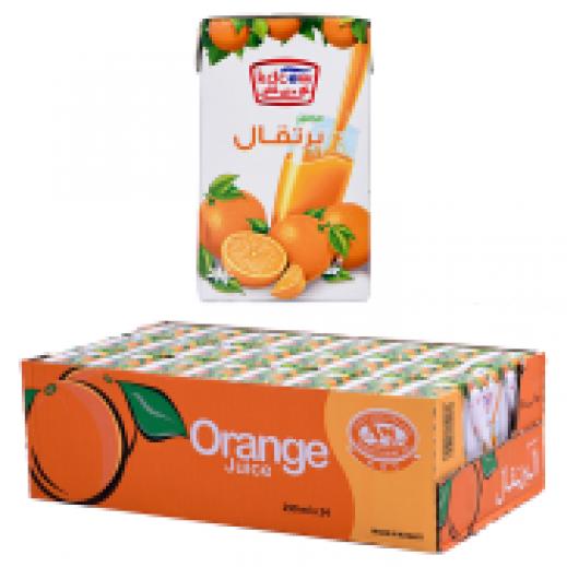 كي دي كاو - عصير نكتار البرتقال 24×250 مل