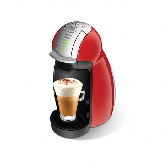 نسكافيه دولتشي جوستو - ماكينة تحضير القهوة موديل (Genio) – أحمر