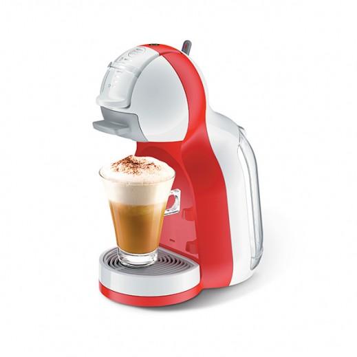 نسكافيه دولتشي جوستو - ماكينة تحضير القهوة موديل (Mini Me) – أحمر