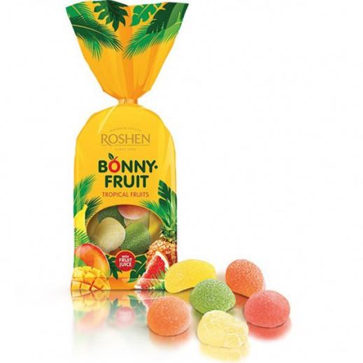 """روشين – حلوى جيلي """"بوني فروت"""" بالفواكه الإستوائية 250 جم"""