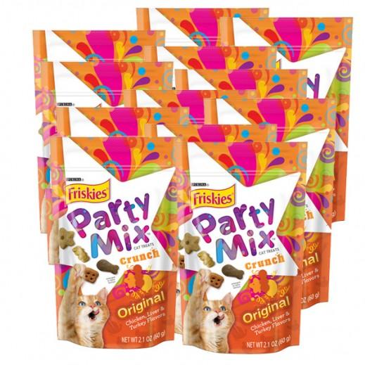 فرسكس – طعام القطط بارتي ميكس أوريجنال 60 جم (10 حبة) - أسعار الجملة