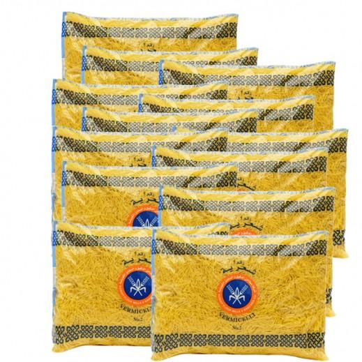 المطاحن – شعيرية رقم 2  500 جم (20 حبة)