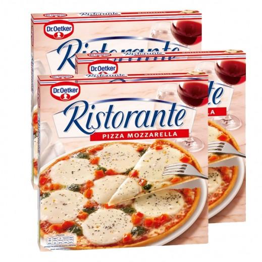 """د.أوتكر – بيتزا """"ريستورانتي"""" جاهزة بالجبنة الموزاريلا 335 جم (3 حبة) - عرض التوفير"""