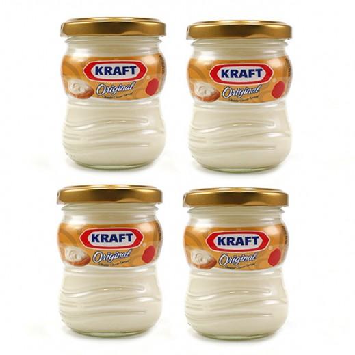 كرافت - جبنة كريم قابلة للدهن 140 جم (4 حبة)