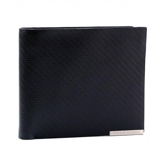 تشارلز جوردان – محفظة جلدية رجالية JLP814  – أسود