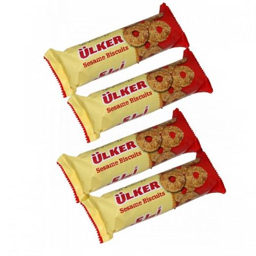 أولكر - بسكويت السمسم 70 جرام (4 حبة)