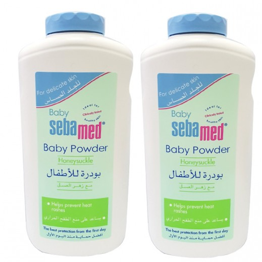 سيباميد - بودرة البيبي بزهر العسل 200 جم (2 حبة) - عرض التوفير