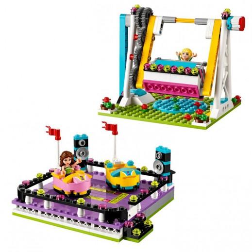 """ليجو – لعبة المكعبات """"حديقة التسلية مع السيارات """"  (+8 سنوات)"""