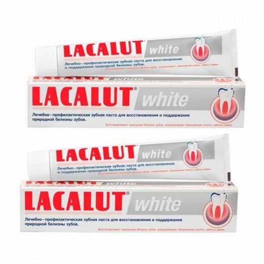 لاكالوت – معجون أسنان مُبيض 75 مل (2 حبة)
