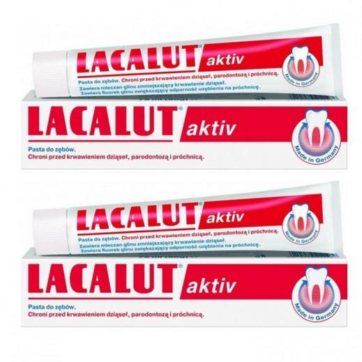 لاكالوت – معجون أسنان أكتيف 75 مل (2 حبة)
