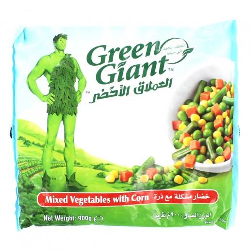 العملاق الأخضر – خضار مشكلة مجمدة مع ذرة 900 جم (خصم 20%)
