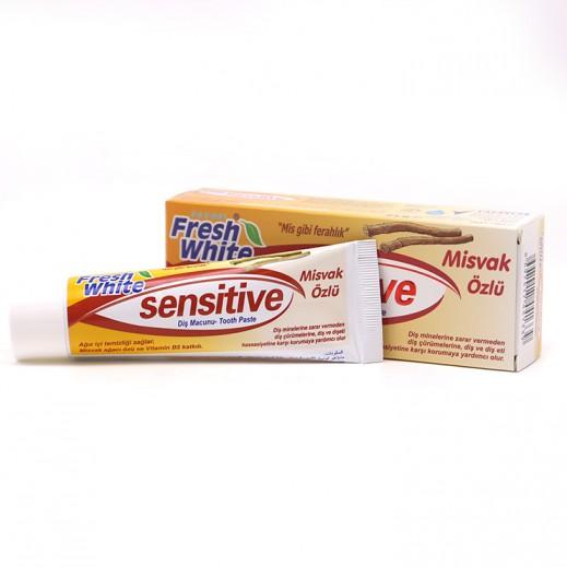 فافوري – معجون أسنان مبيض للأسنان بنكهة المسواك 90 جرام