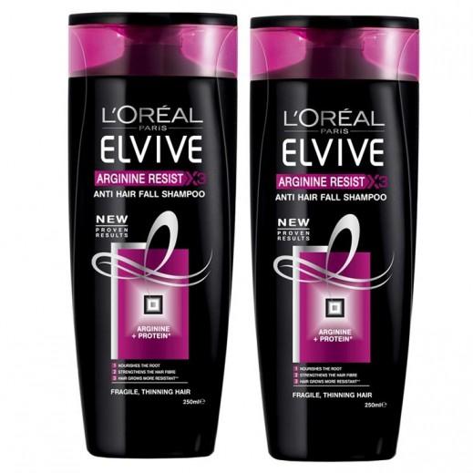 لوريال إلڤيڤ – شامبو معالجة تساقط الشعر – 2 حبة × 400 مل