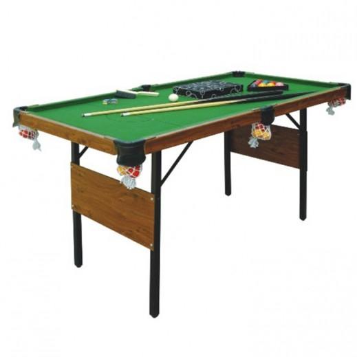 النصر الرياضي - طاولة البلياردو مع العصي والكرات  - يتم التوصيل بواسطة النصر الرياضي خلال 3 أيام عمل
