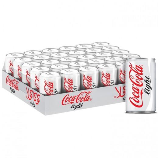 كوكا كولا لايت – مشروب غازي 150 مل ( 30 حبة )