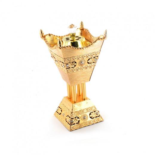 مبخرة ذهبية اللون (موديل JG007)