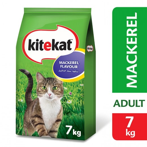 كايتكات – طعام القطط بطعم الماكريل 7 كجم