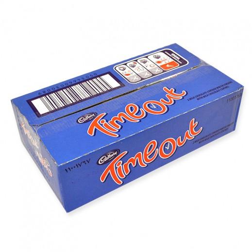 كادبوري - شوكولاتة تايم آوت - كرتون 24 حبة × 32 جم