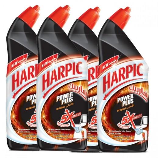 """هاربيك – منظف الحمام """" باور بلس الأصلي """" 1 لتر ( 4 حبة ) - عرض التوفير"""