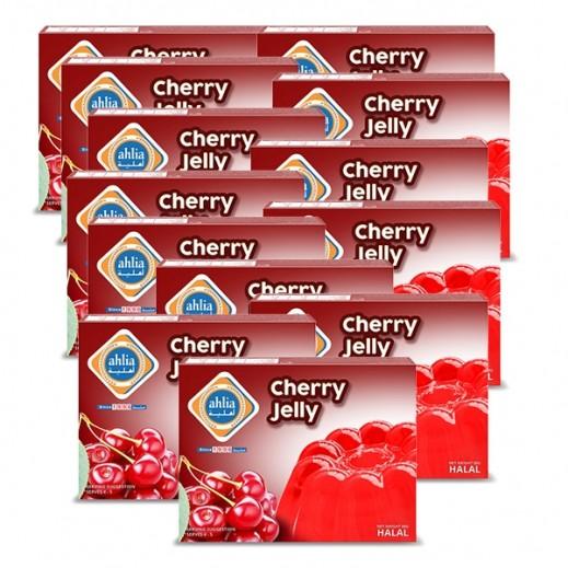 أهلية - حلوى الجيلاتين بنكهة الكرز 80 جم (10 + 2 مجاناً)