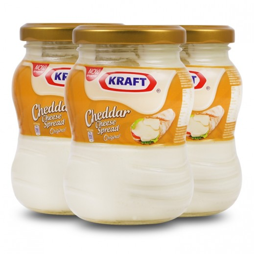 كرافت - جبنة كريم قابلة للدهن 240 جم (3 حبة) - عرض التوفير