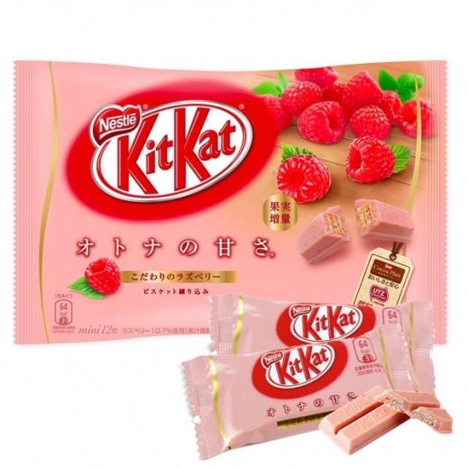 نستلة  - شوكولاتة كيت كات بطعم التوت 135.6جم