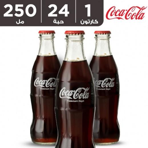 كوكا كولا – مشروب غازي 24 × 250 مل